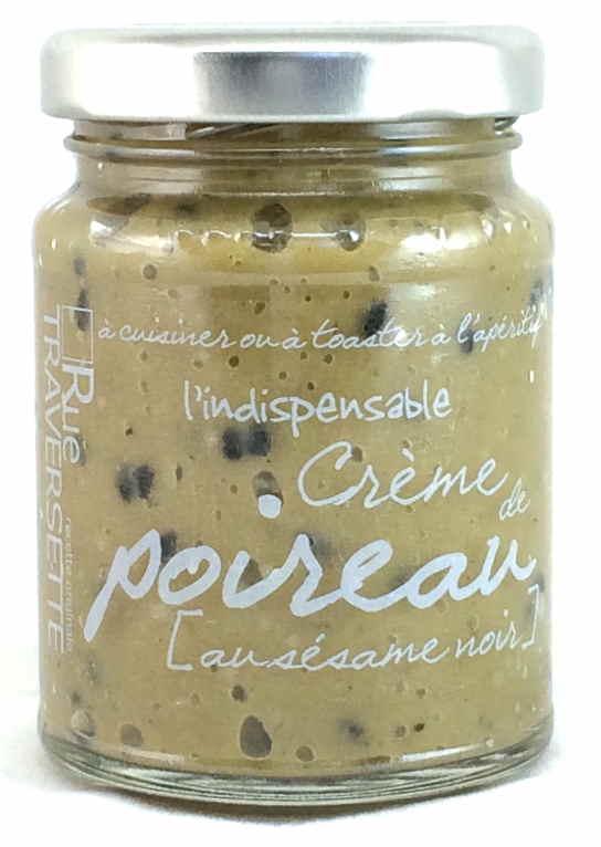 Indispensable crème de poireau au sésame noir 95g - Epicerie salée