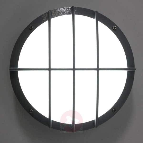 SUN 8 LED die-cast aluminium wall light - Ceiling Lights