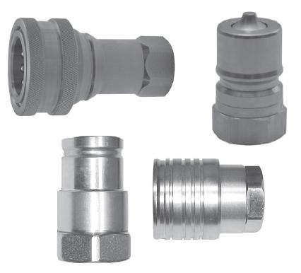 High pressure quick disconnect fittings - null