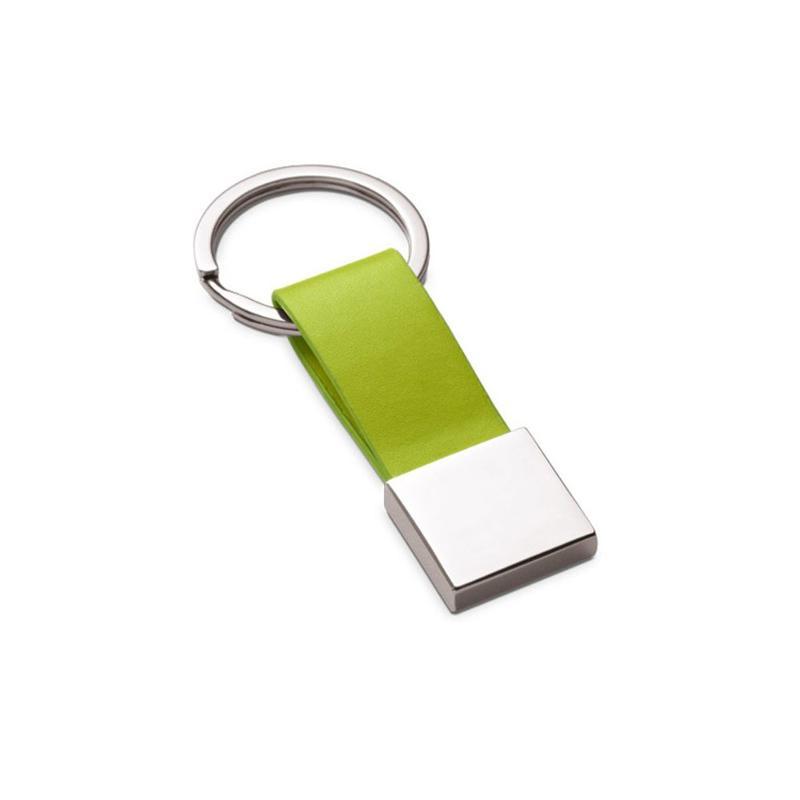 Porte-clés simili cuir et métal - Porte-clés métal
