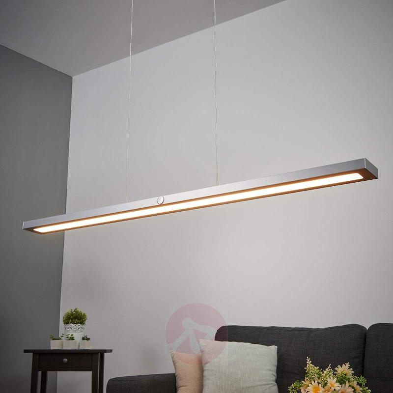 Touch dimmer included - LED pendant lamp Silas - Pendant Lighting