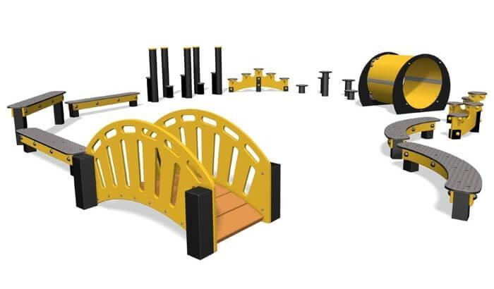 Kunststof sporttoestellen - Professionele sporttoestellen voor speeltuinen, pretparken & publieke parken.