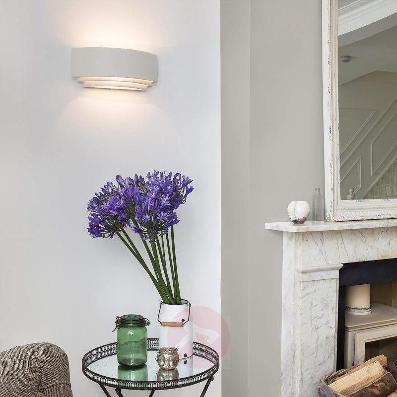 Amlfi Wall Light Simple Plaster - Wall Lights