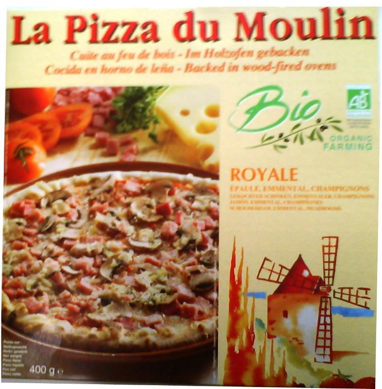Pizza royale - Pizza biologique et surgelée
