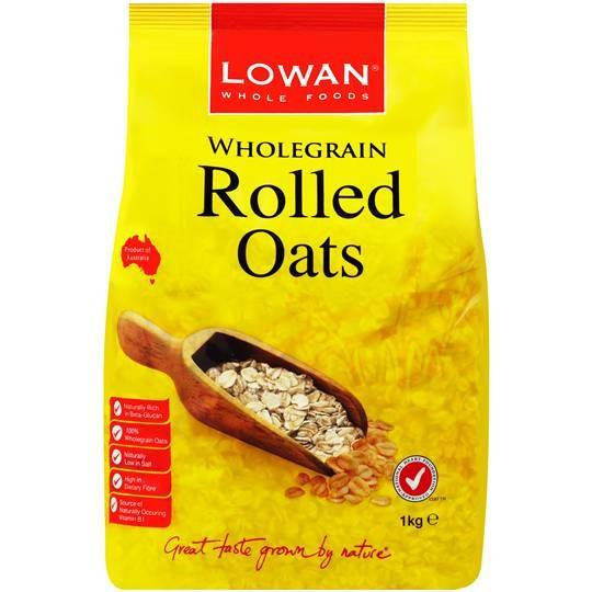 Lowan Oats 1kg - Lowan Rolled and Instant Oats from Australia 1kg for export