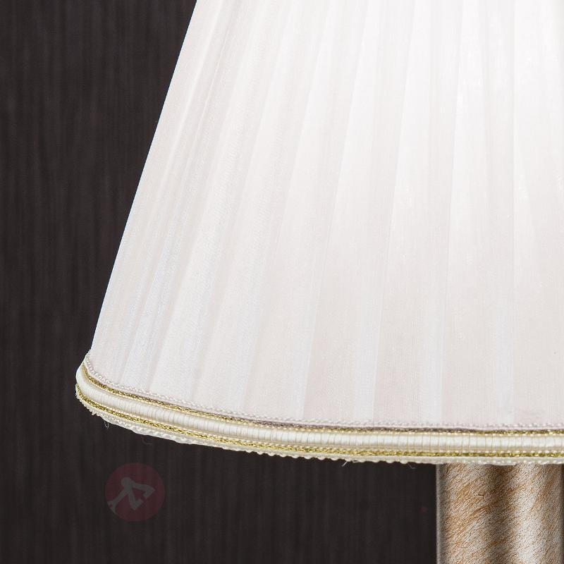 Lampe à poser Miramare textile, avec abat-jour - Lampes à poser en tissu