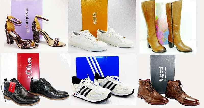 Стоки обуви из Германии