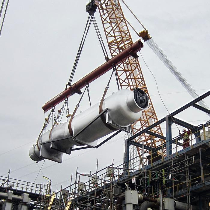 Industrial and power plant service - Competent, quick and near to the customer