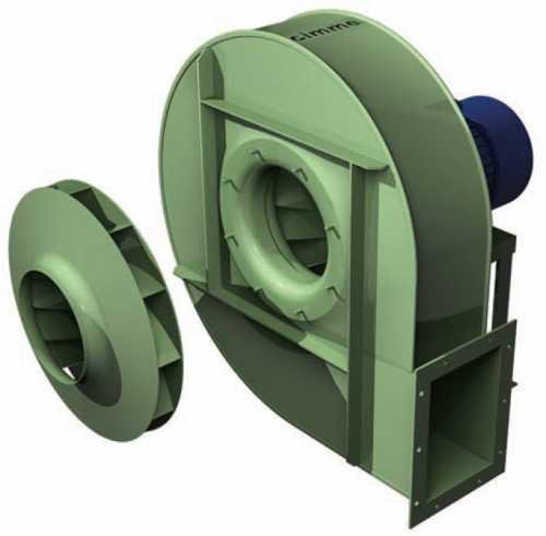GBJ • Ventilateur haute pression type GBJ - Transmission directe - null
