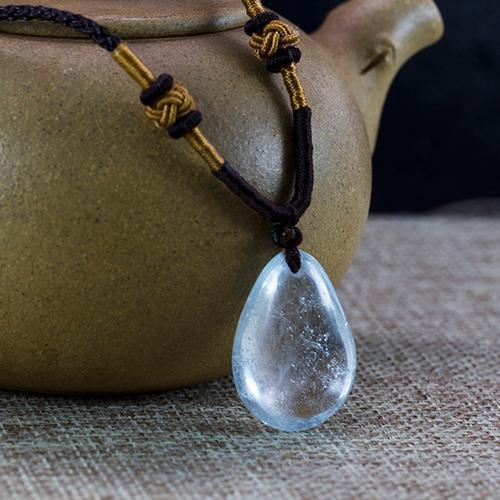 Aguamarina natural piezas talladas en forma de gota