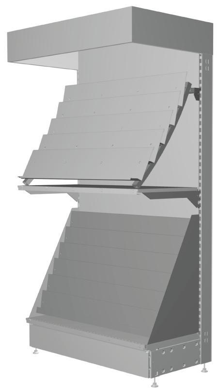 Modular shop rack systems & instore interior shelving design - Congratulations presentation