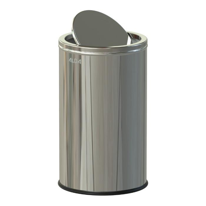BIN WITH FLAP - BIN WITH STAINLESS SWING LID 360