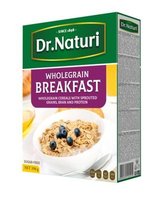 Breakfast  cereal  - Whole Grain Breakfast Cereal/Buckwheat cornflakes with bran/Oat flakes with bran