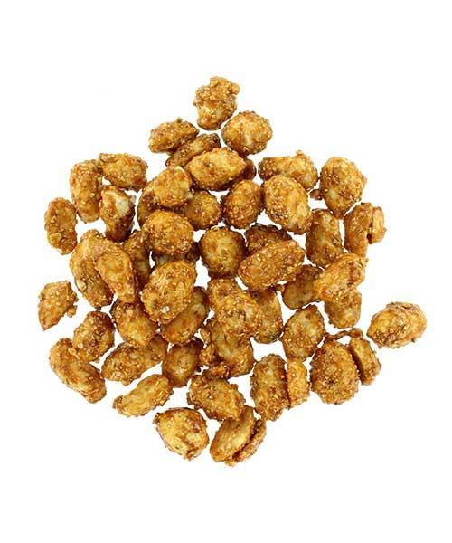Honey lemon garlic pepper peanuts