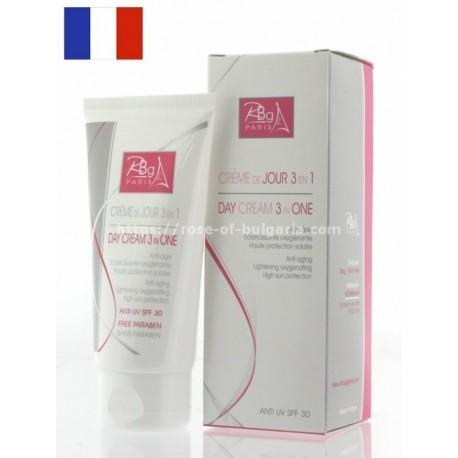 Crème éclaircissante naturelle à l'eau de rose - Rbg Paris