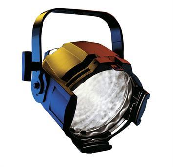 Halogen spotlights - ETC Source Four PARNel , silber-grau