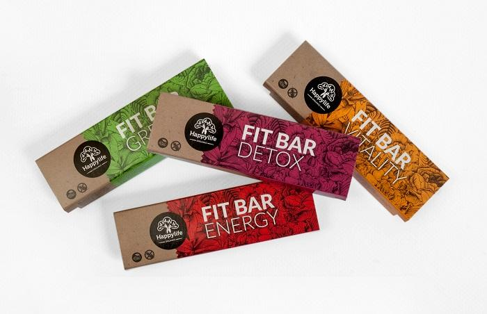HAPPYLIFE FIT BAR – Organic bars full of energy - Remarkable line of healthy bars.