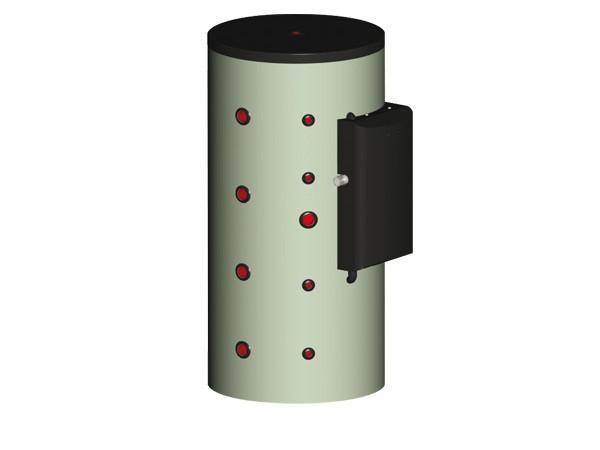 RYTP - Termoaccumulatori per la produzione di ACS - RYTP 300 - 800 kW