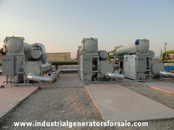 Organic Rankine Cycle Generator Plant 750 KW -