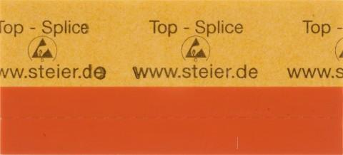 TOP-Splice, ESD safe, orange 4,3 x 40 mm - TOP-Splice made from Steierform 87-20187