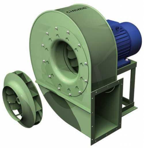 GCO • Ventilateur moyenne pression type GCO - Transmission directe - null