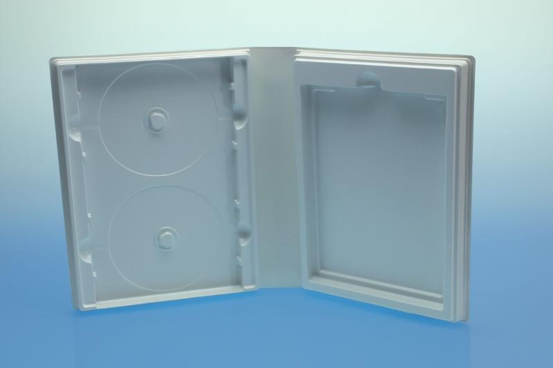 Weichbox für 4 Disc's und Textheft - Multimediaboxen