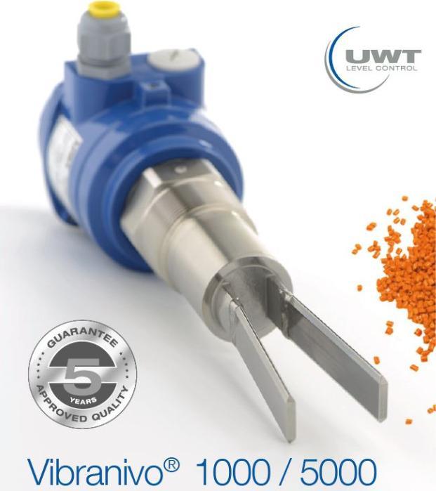Vibranivo® VN 1000/5000 - Vibrations - Grenzstandmessung - Schwinggabel für Schüttgüter