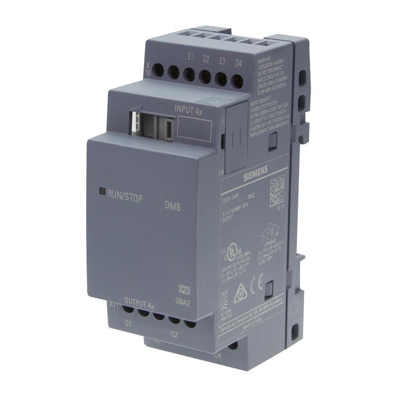 Siemens LOGO! 8 DM8 12/24R - 6ED1055-1MB00-0BA2 - null