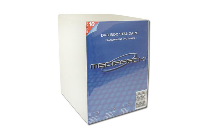 DVD Boxen 10er Pack - MPI - 14mm - transparent - Retailverpackungen & Zubehör