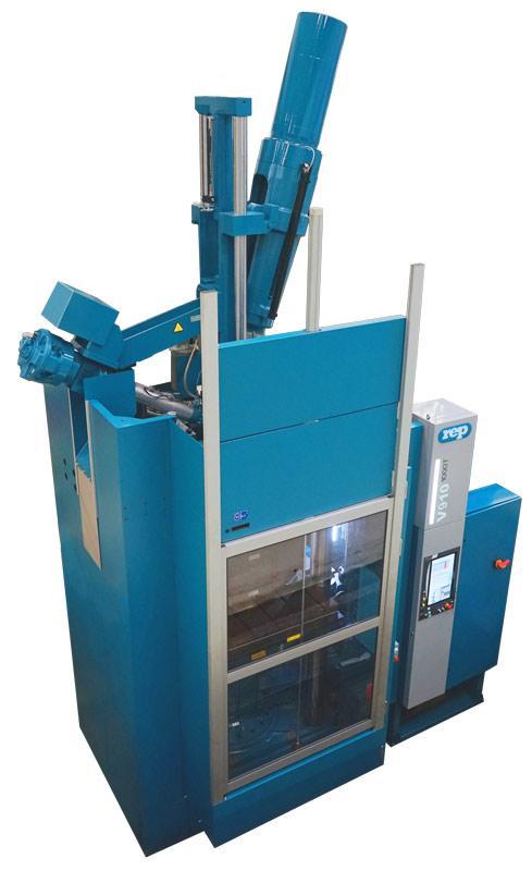 Presses à injecter le caoutchouc verticales - Modèle V910 Extended - 10 200kN