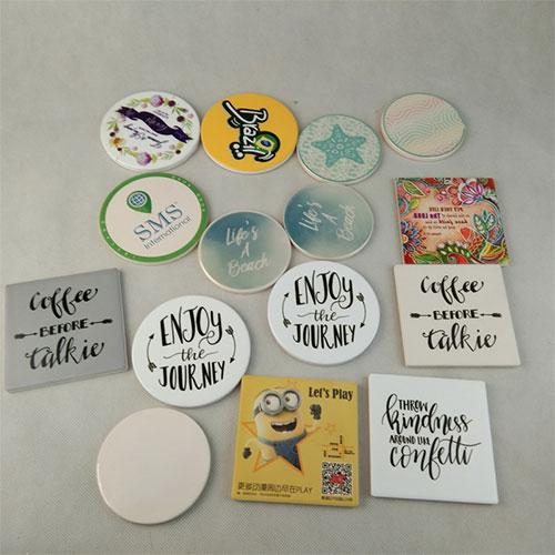 Ceramic Beer mat holder absorbent coaster for bar - Coaster And Ornament