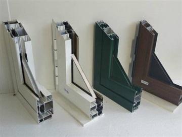 Profili in alluminio taglio termico - Serramenti e infissi in alluminio e pvc