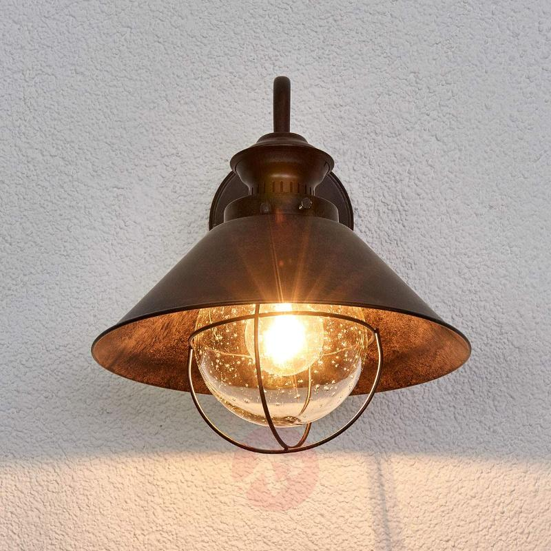 Nautica Rustic Exterior Wall Lamp - Outdoor Wall Lights