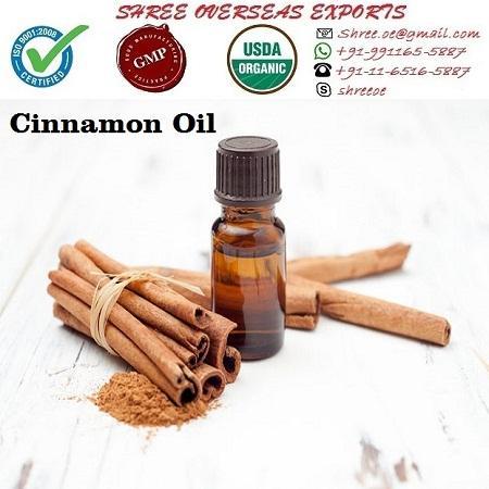 Organic Cinnamon Oil - USDA Organic
