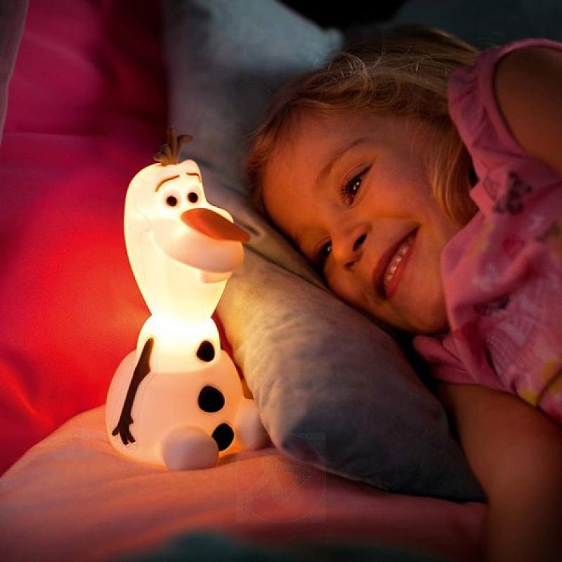 Super cute Olaf LED night light - indoor-lighting