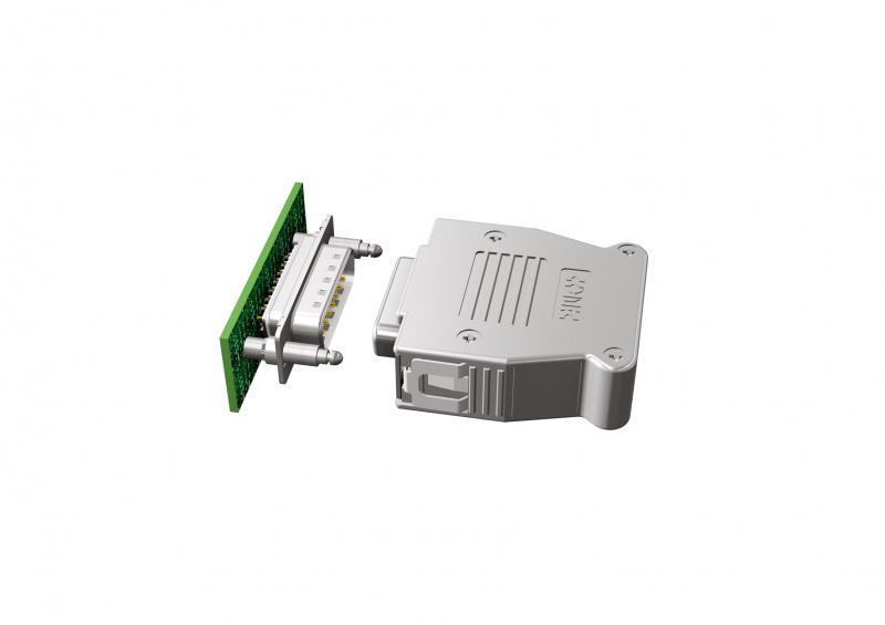 D-SUB Steckverbinder mit Rastbolzen für SnapLock  Haube - Steckverbinder mit Bolzen für CONEC Snaplock Haube