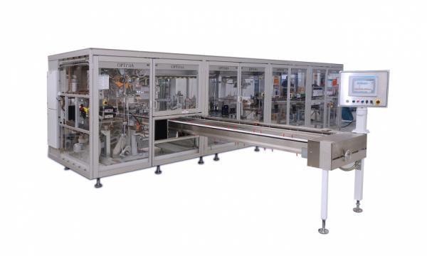 Packaging Machine OPTIMA OS5 - Packaging Machine OPTIMA OS5: Bagger for folded Paper Towels