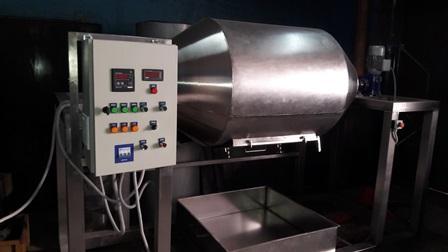 Барабанный УФ стерилизатор ОБП09 - Холодная УФ стерилизация.Удельные энергозатраты 0,01 кВт·ч/кг