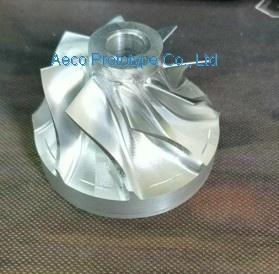 Aluminum Allloy Wheel Impellor Vane - by 5 Axis CNC machines - 201861101234