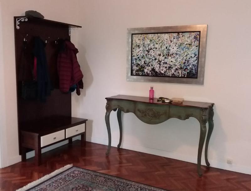 Gabanero Para Abrigos Y Mueble De Entrada - null
