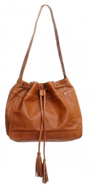 Ladies Bag in Plain Leather