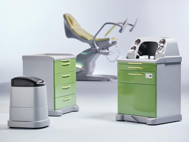 Orbit Mobile supply and disposal system - Mobile dispensing and disposal modules for Gynaecology and Proctology