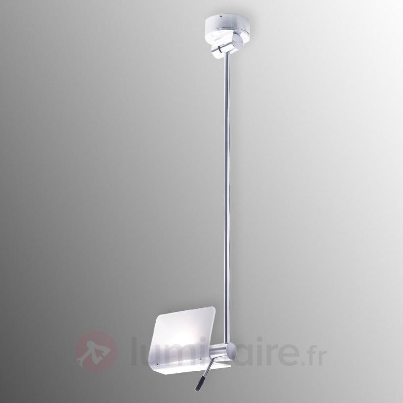 Fine suspension en aluminium Attik verre - Toutes les suspensions