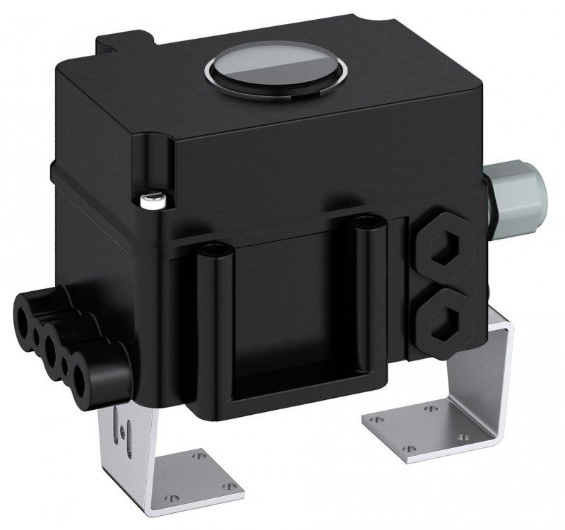 Analog positioner type EP 100/200 - The analog positioners EP100/200 serve to activate pneumatic actuators.