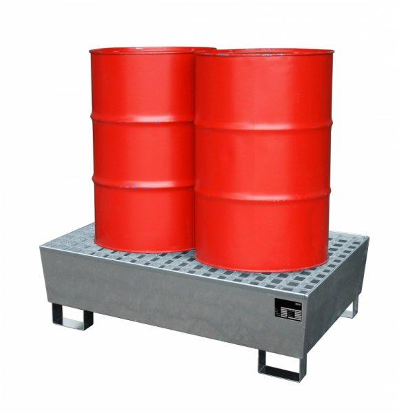 Retention basins type ECO-S - The conical retention basin optimized for logistics for storage of drums