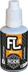 Fluor Liquid Warm Black - Ski wax - Top Coat
