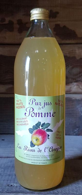 100% Pur Jus de Pomme Pressé - Boissons