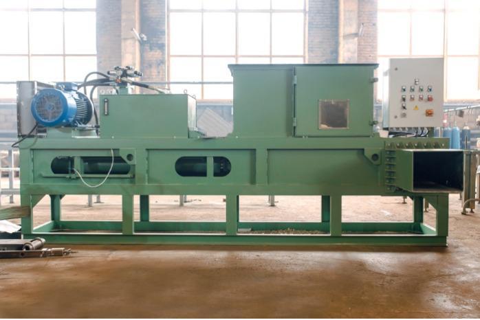 Hydraulic packing press ПГБУ-2000 -