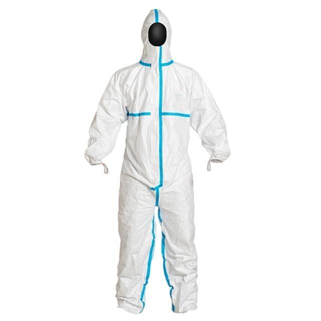 Overoles médicos desechables Tipo de protección 3/4 en  - Overoles médicos desechables Tipo de protección 3/4 en general 60 g / m2 laminad