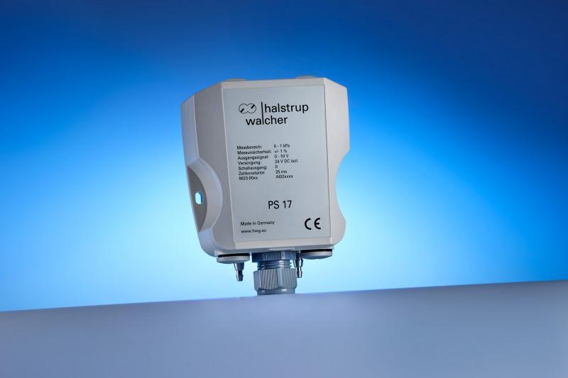 Differenzdruck-Messumformer PS 17 - Kompakter Druckmessumformer für verschiedene Anwendungen